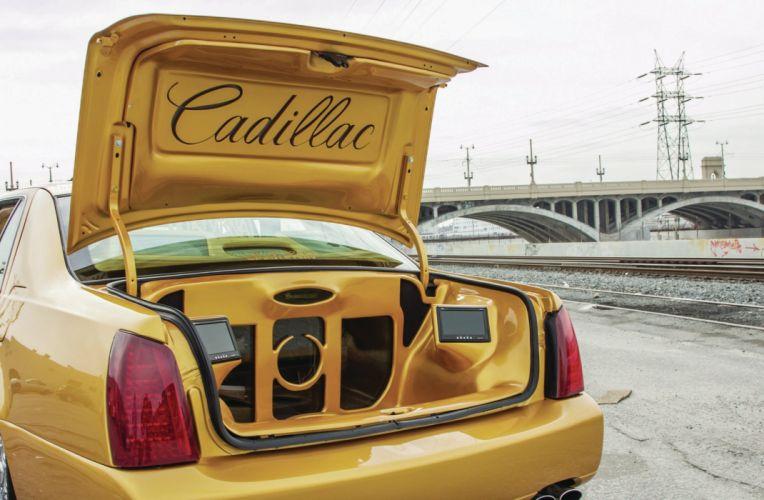2001 CADILLAC DEVILLE custom tuning hot rods rod gangsta lowrider wallpaper