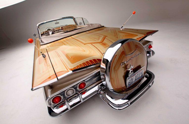 1960 CHEVROLET IMPALA CONVERTIBLE custom tuning hot rods rod gangsta lowrider wallpaper