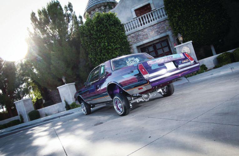 1983 CHEVROLET MONTE CARLO custom tuning hot rods rod gangsta lowrider wallpaper