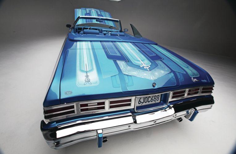 1975 CHEVROLET CAPRICE custom tuning hot rods rod gangsta lowrider wallpaper
