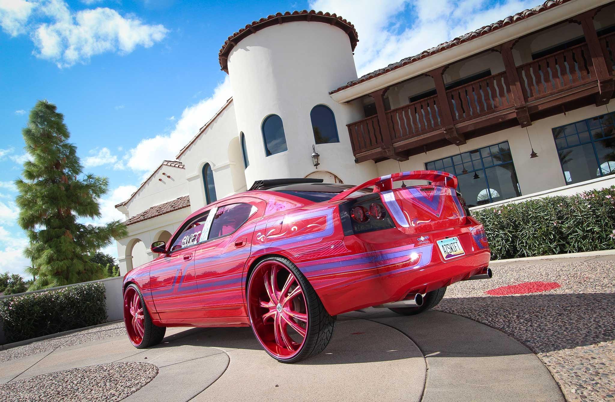 2008 Dodge Charger Custom Tuning Hot Rods Rod Gangsta Lowrider Wallpaper 2048x1340 972138 Wallpaperup