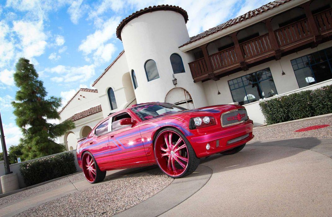 2008 Dodge Charger Custom Tuning Hot Rods Rod Gangsta Lowrider Wallpaper 2048x1340 972139 Wallpaperup