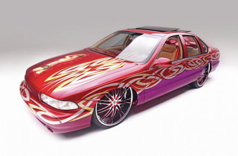1996 CHEVROLET IMPALA custom tuning hot rods rod gangsta lowrider wallpaper