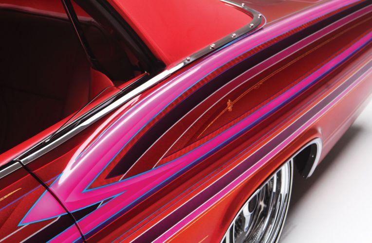 1965 CHEVROLET IMPALA CONVERTIBLE custom tuning hot rods rod gangsta lowrider wallpaper