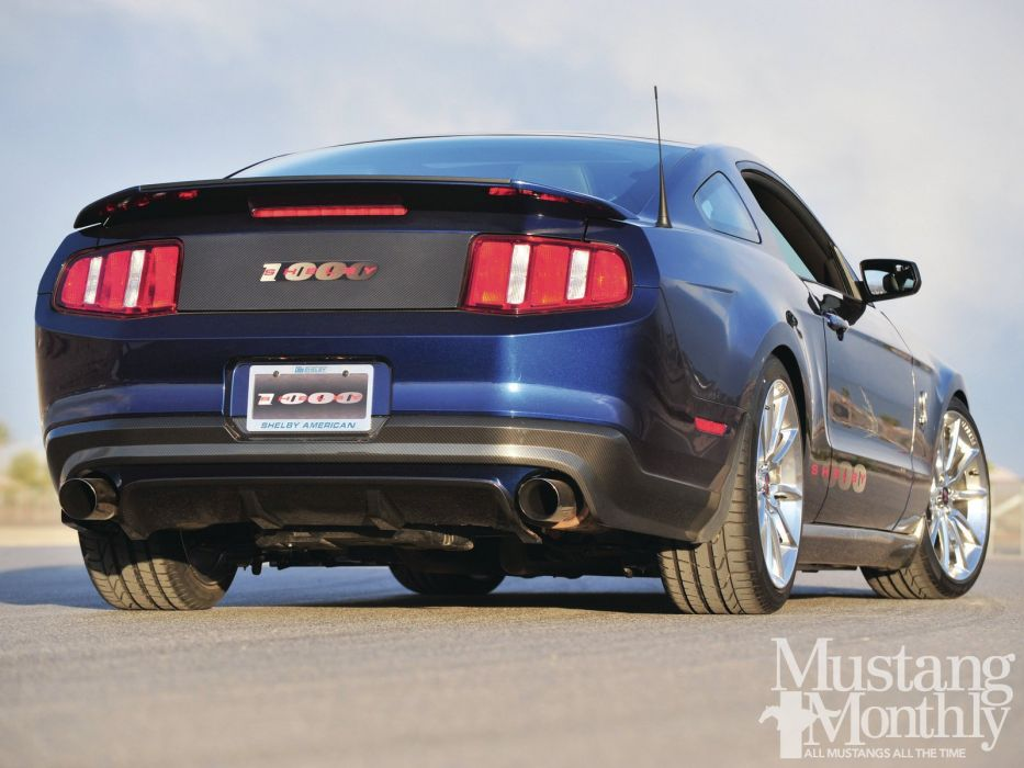 2011 Ford Mustang Shelby 1000 Gentle Giant Pro Touring Super Street USA -02 wallpaper