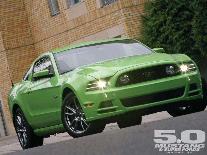2013 Ford Mustang GT Impulse Equation Pro Touring Super Street USA -01 wallpaper