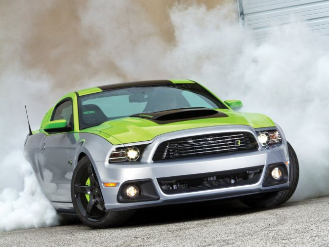 2013 Ford Mustang Roush Phase-3 Pro Touring Super Street USA -01 wallpaper