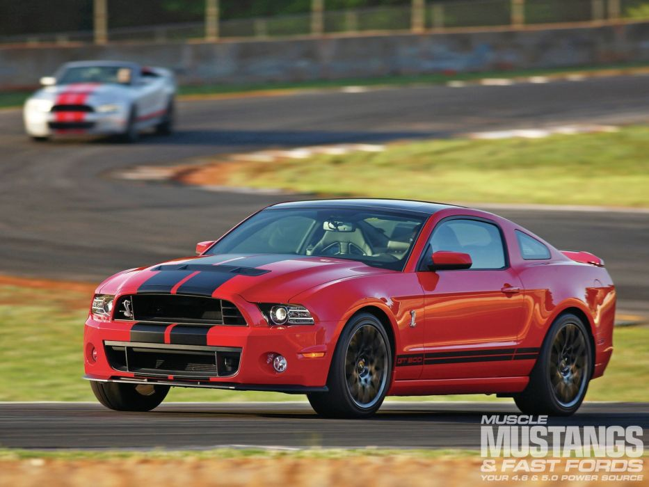 2013 Ford Mustang Shelby GT500 Super Street Muscle USA -01 wallpaper
