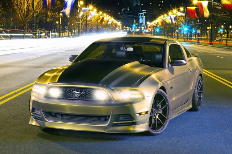 2013 Ford Mustang-S 5 0 Pro Touring Super Street USA -02 wallpaper