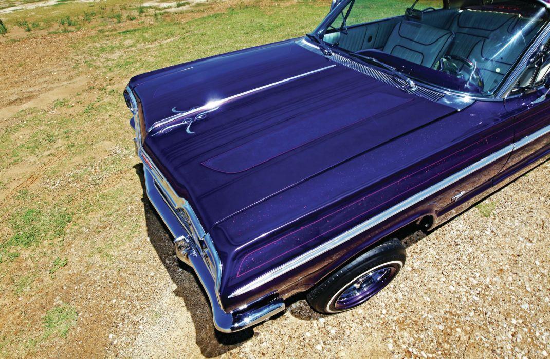 1964 CHEVROLET IMPALA custom tuning hot rods rod gangsta lowrider wallpaper