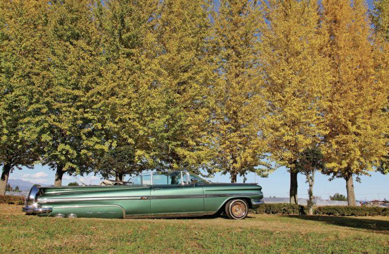 1959 CHEVROLET IMPALA custom tuning hot rods rod gangsta lowrider wallpaper