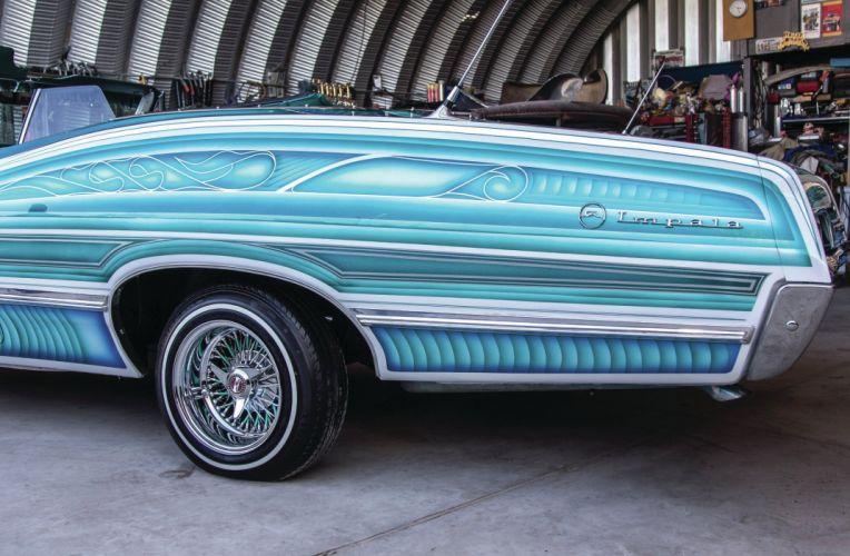 1967 CHEVROLET IMPALA CONVERTIBLE custom tuning hot rods rod gangsta lowrider wallpaper