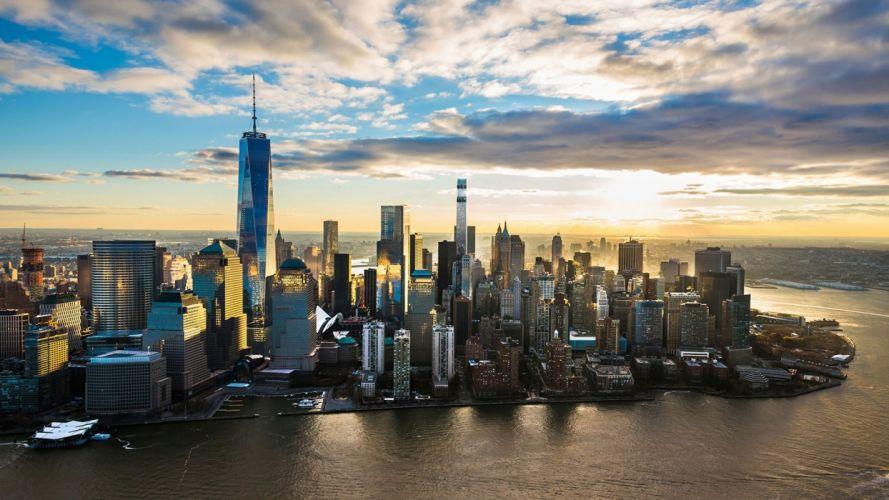 new york city cities brooklyn bridge manhattan ville usa building wallpaper