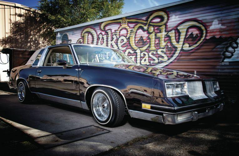 1985 OLDSMOBILE CUTLASS custom tuning hot rods rod gangsta lowrider wallpaper