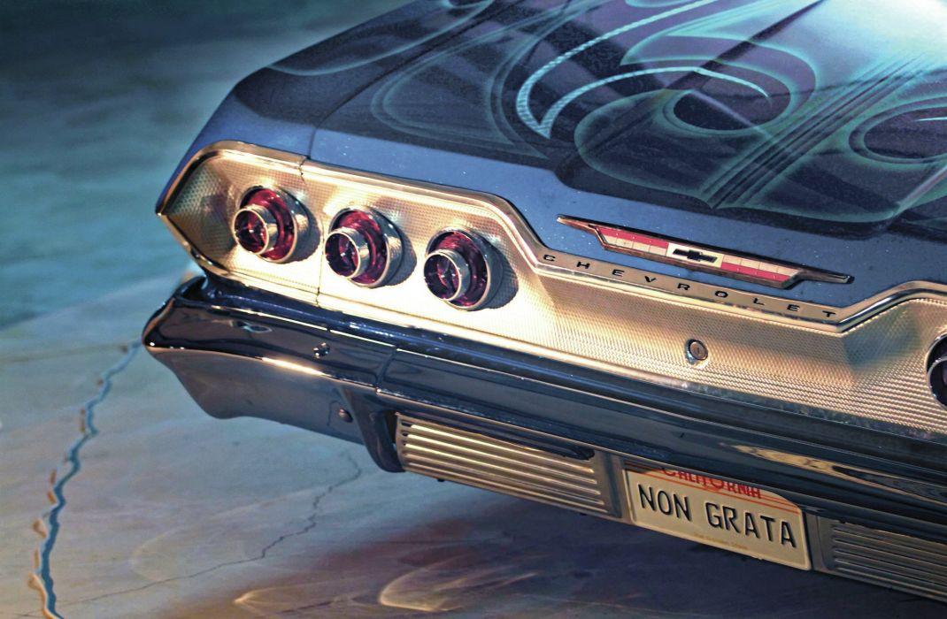 1963 CHEVROLET IMPALA SS custom tuning hot rods rod gangsta lowrider wallpaper