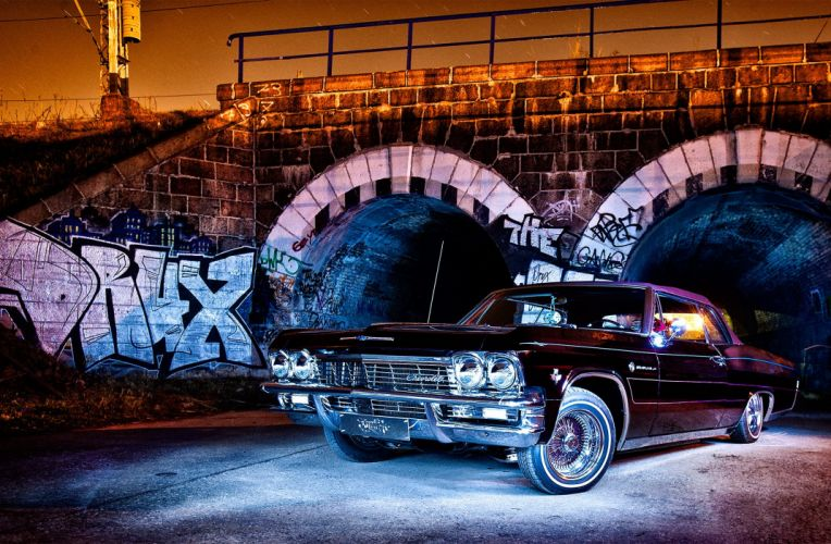 1965 CHEVROLET IMPALA custom tuning hot rods rod gangsta lowrider wallpaper