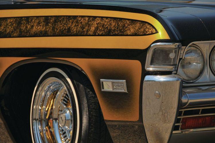1968 CHEVROLET IMPALA custom tuning hot rods rod gangsta lowrider wallpaper