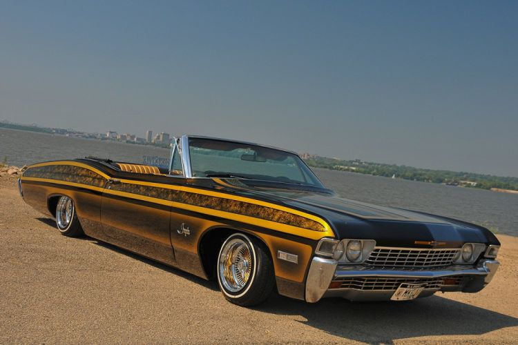 1968 CHEVROLET IMPALA custom tuning hot rods rod gangsta lowrider wallpaper
