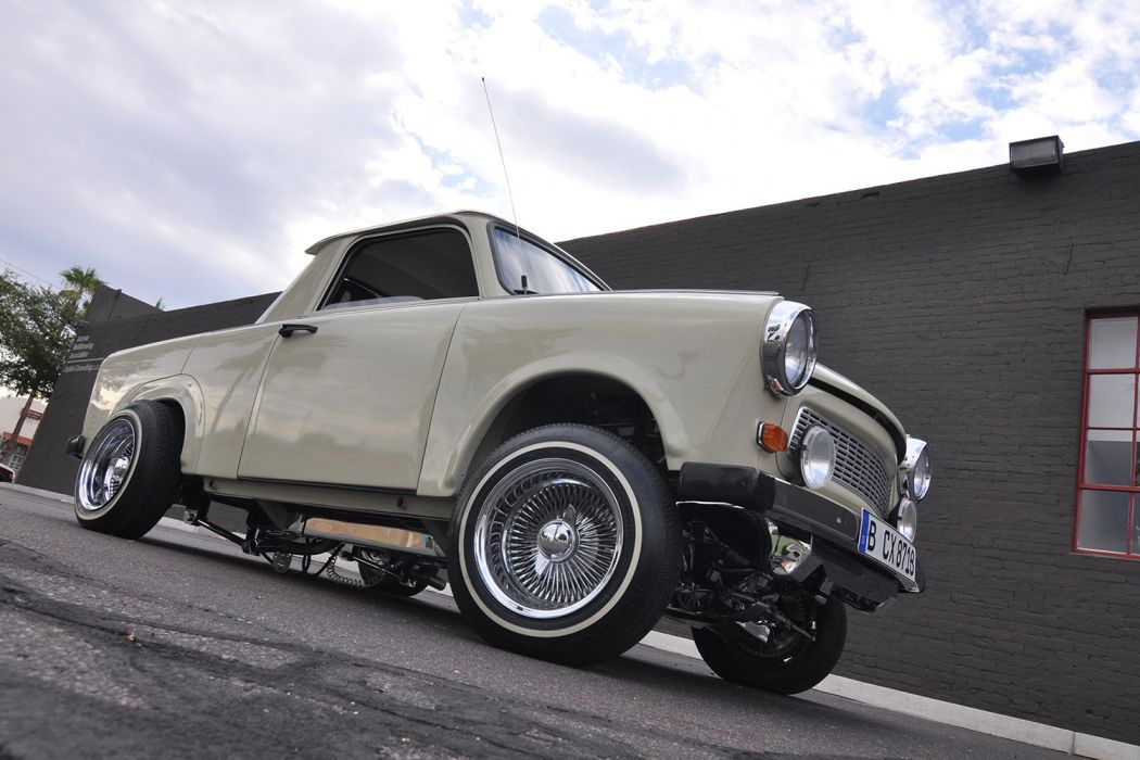 1987 TRABANT 601 DELUXE custom tuning hot rods rod gangsta lowrider pickup wallpaper