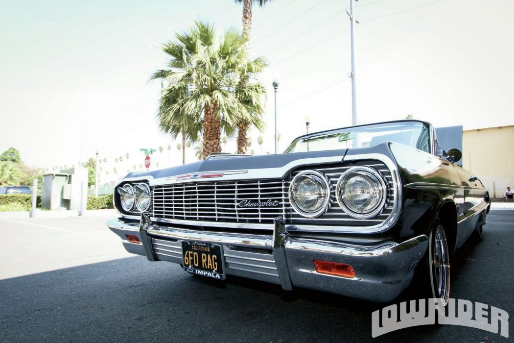 1964 CHEVROLET IMPALA CONVERTIBLE custom tuning hot rods rod gangsta lowrider wallpaper