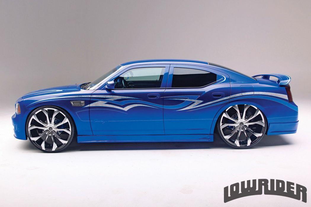 2008 Dodge Charger Custom Tuning Hot Rods Rod Gangsta Lowrider Wallpaper 1500x1000 973629 Wallpaperup