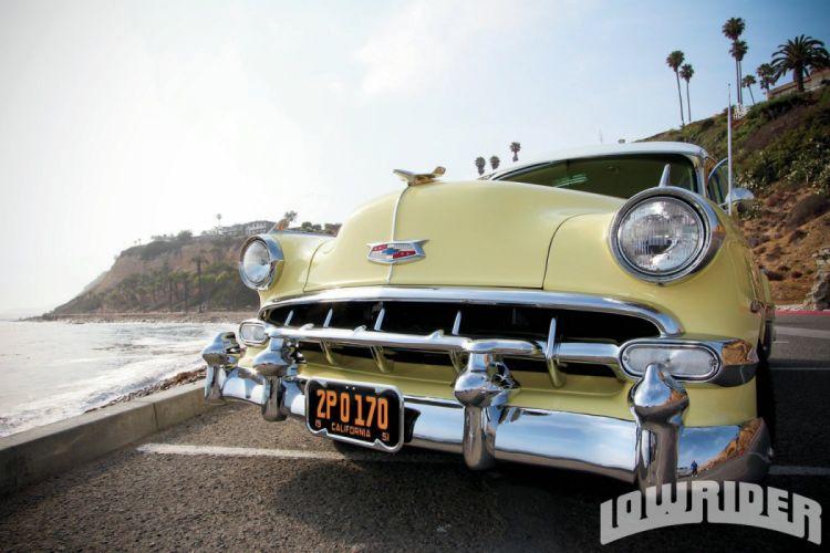 1954 CHEVROLET WAGON custom tuning hot rods rod gangsta lowrider stationwagon wallpaper