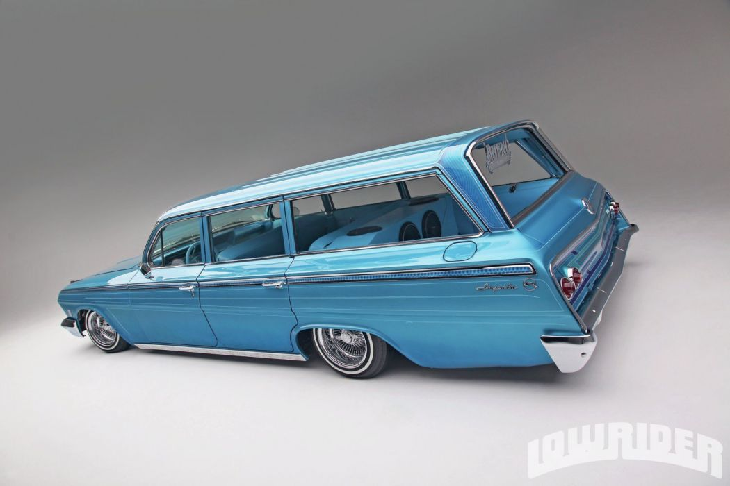 1962 CHEVROLET IMPALA STATIONWAGON custom tuning hot rods rod gangsta lowrider wallpaper
