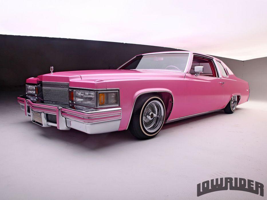 1979 CADILLAC COUPE DE VILLE custom tuning hot rods rod gangsta lowrider wallpaper