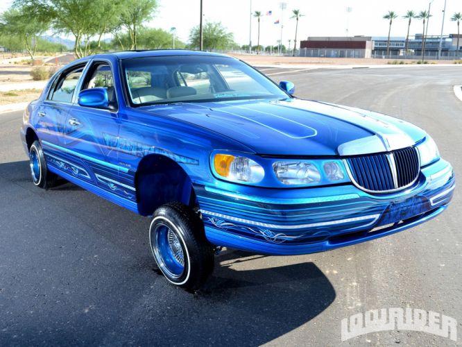 1998 LINCOLN TOWN CAR custom tuning hot rods rod gangsta lowrider wallpaper