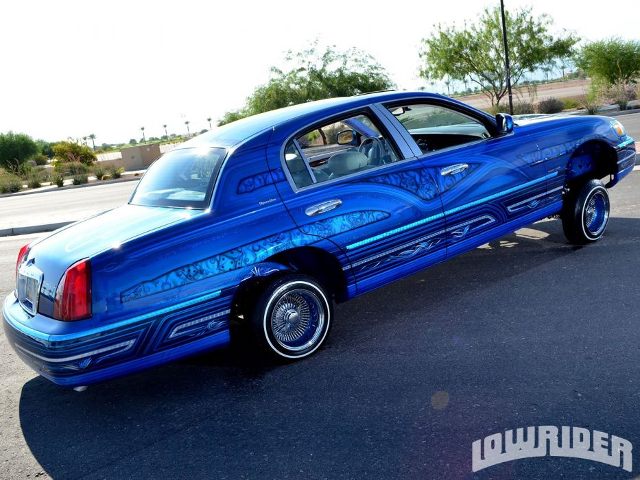 1998 Lincoln Town Car Custom Tuning Hot Rods Rod Gangsta Lowrider