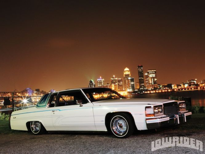 1983 CADILLAC COUPE DEVILLE custom tuning hot rods rod gangsta lowrider wallpaper