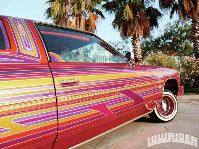 1976 CHEVROLET CAPRICE custom tuning hot rods rod gangsta lowrider wallpaper