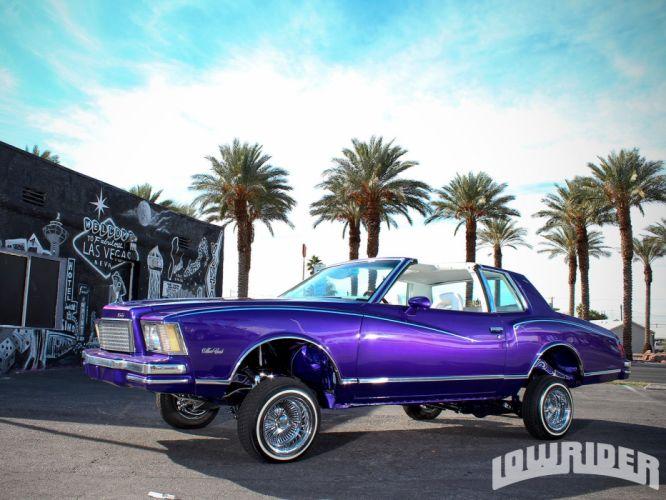 1978 CHEVROLET MONTE CARLO custom tuning hot rods rod gangsta lowrider wallpaper
