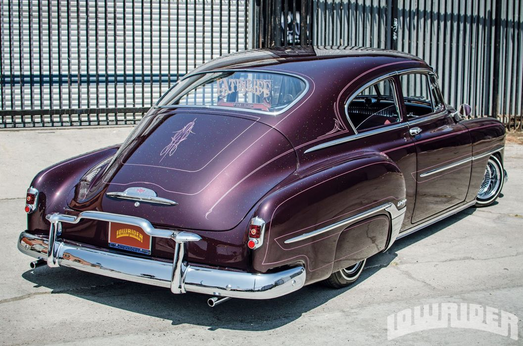 1952 CHEVROLET FLEETLINE DELUXE custom tuning hot rods rod gangsta lowrider wallpaper