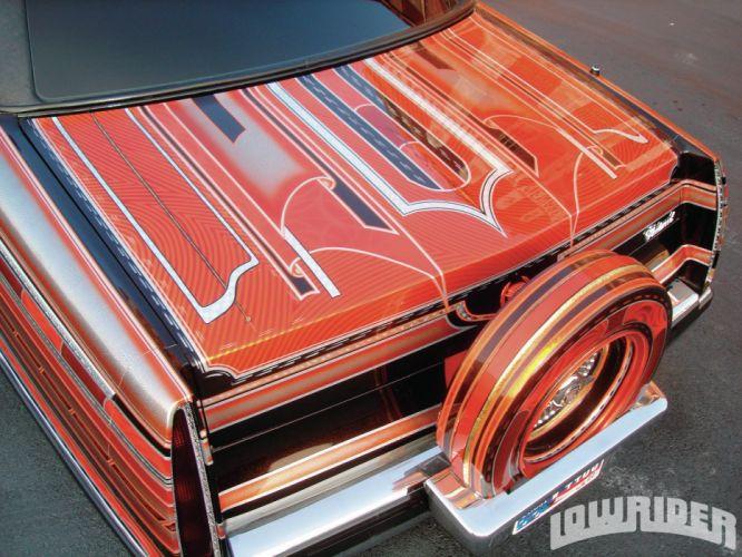 1995 CADILLAC FLEETWOOD custom tuning hot rods rod gangsta lowrider wallpaper
