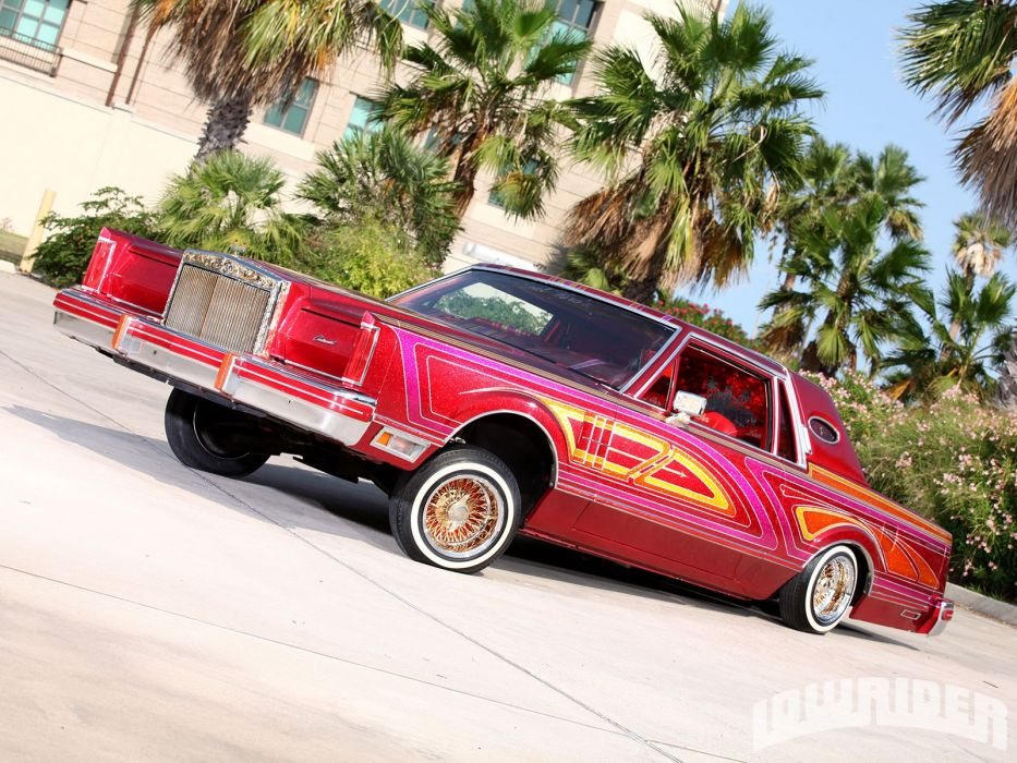 1981 LINCOLN MARK VI COUPE custom tuning hot rods rod gangsta lowrider wallpaper
