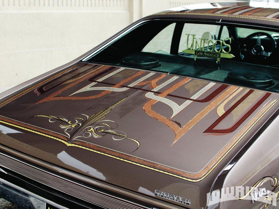 1968 CHEVROLET NOVA custom tuning hot rods rod gangsta lowrider wallpaper