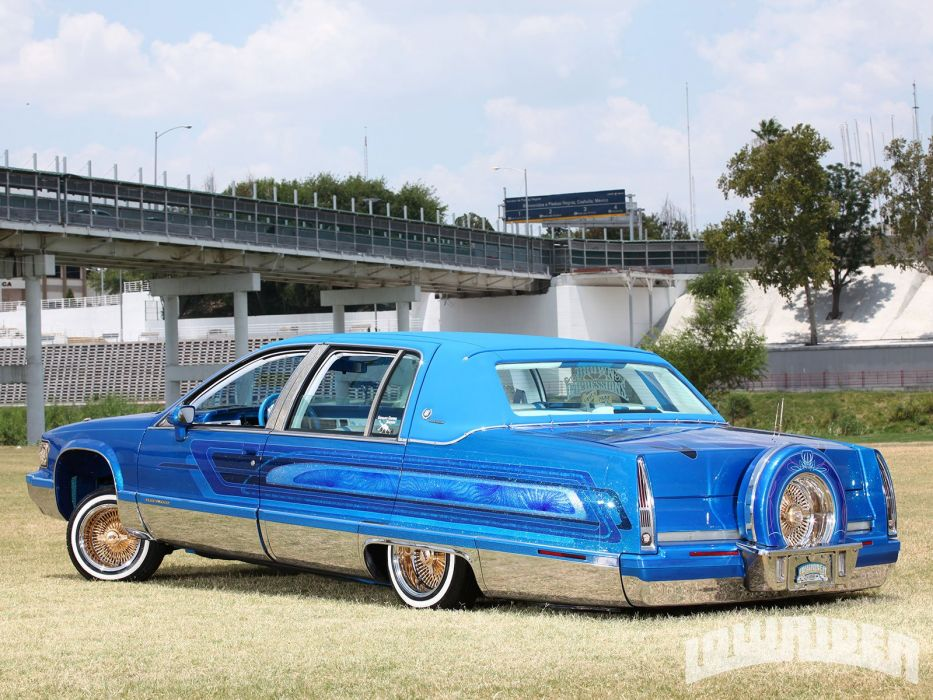 1994 CADILLAC FLEETWOOD custom tuning hot rods rod gangsta lowrider wallpaper