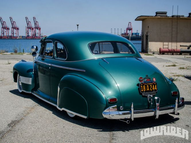 1941 CHEVY DELUXE COUPE custom tuning hot rods rod gangsta lowrider wallpaper