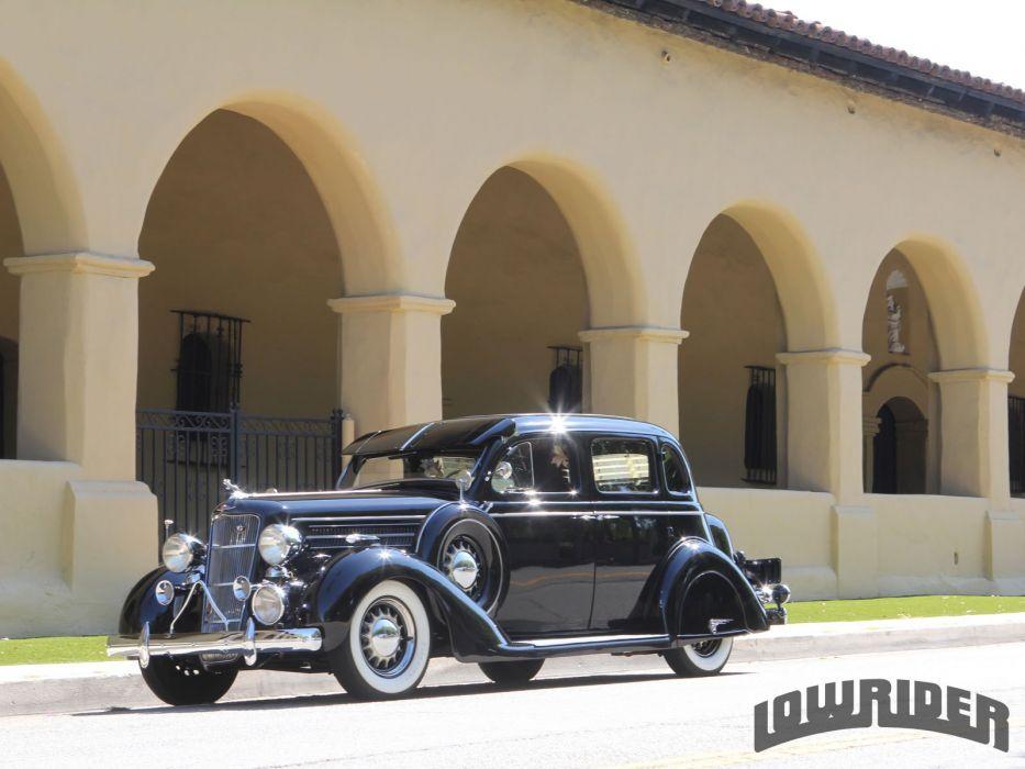 1935 DODGE TOURING SEDAN custom tuning hot rods rod gangsta lowrider wallpaper