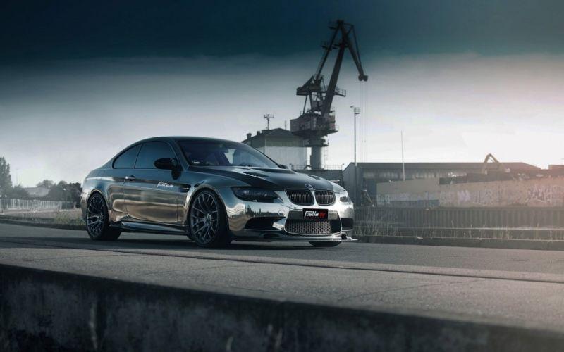 fostla BMW M3 E92 Coupe cars modified wallpaper
