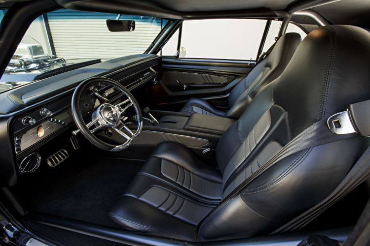 1966 chevy Pro Street Chevelle black cars modified wallpaper