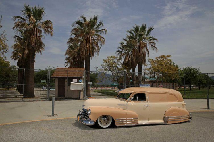 1947 CHEVY SEDAN custom stationwagon truck tuning hot rods rod gangsta lowrider wallpaper