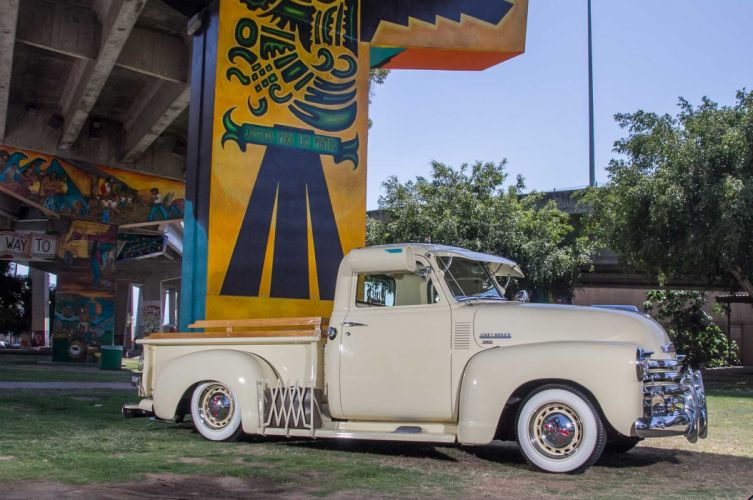 1949 CHEVROLET 3100 custom pickup tuning hot rods rod gangsta lowrider truck wallpaper