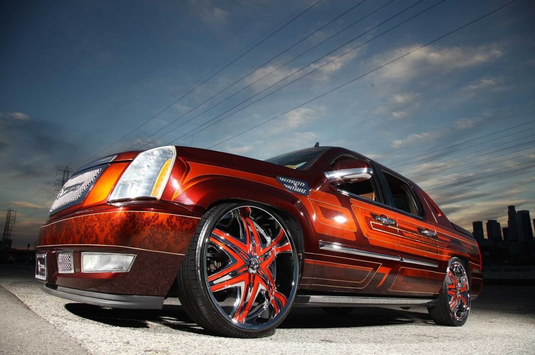 2008 Cadillac Escalade Ext Custom Suv Truck Tuning Hot