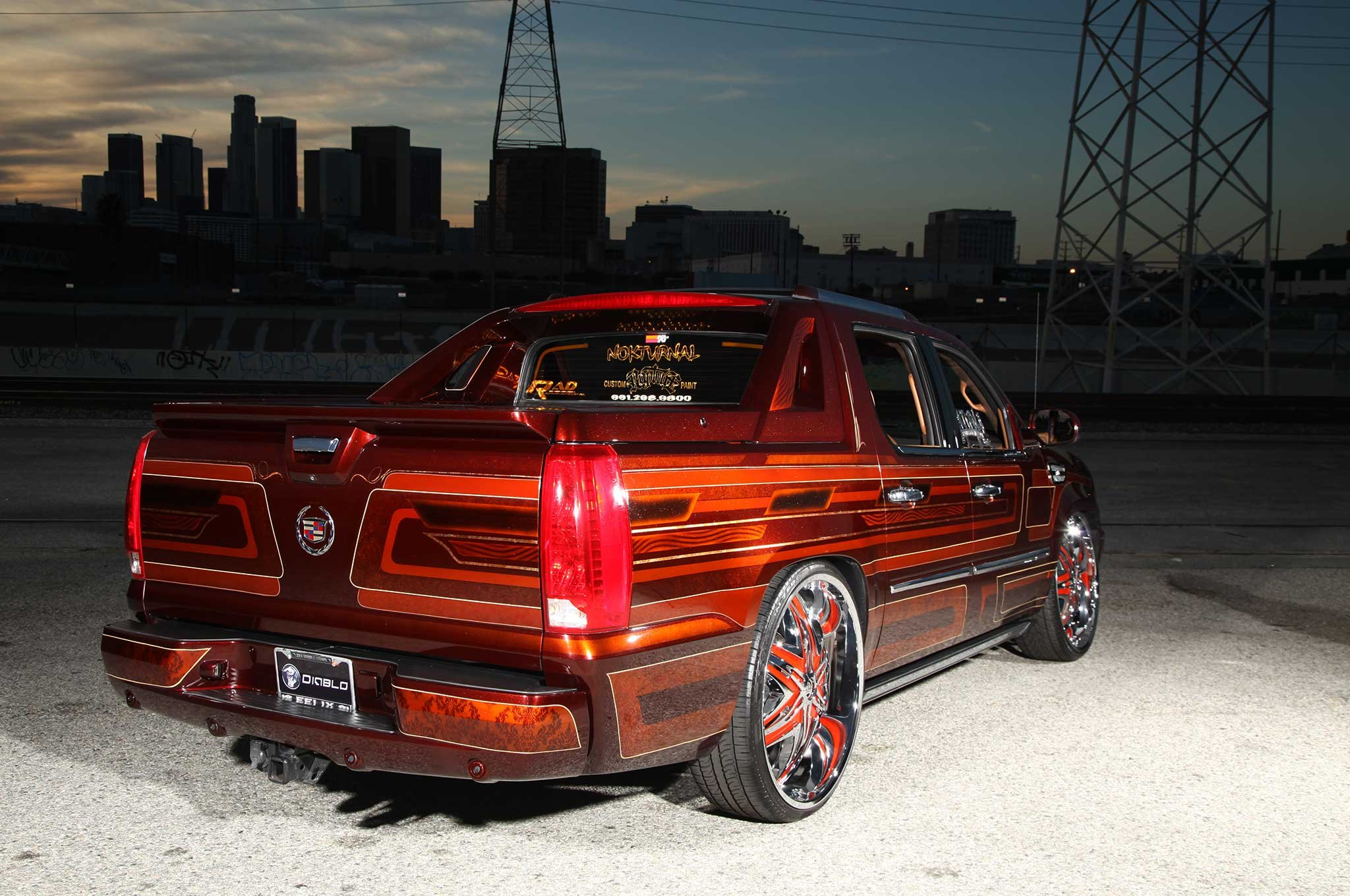 2008 cadillac escalade ext custom suv truck tuning hot rods rod gangsta lowrider wallpaper. Black Bedroom Furniture Sets. Home Design Ideas