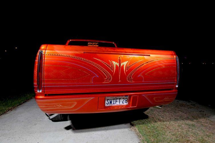 1989 CHEVROLET SILVERADO custom pickup tuning hot rods rod gangsta lowrider truck wallpaper