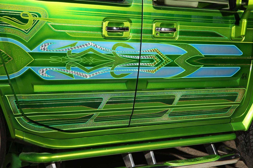 2005 HUMMER SUT custom suv truck tuning hot rods rod gangsta lowrider wallpaper