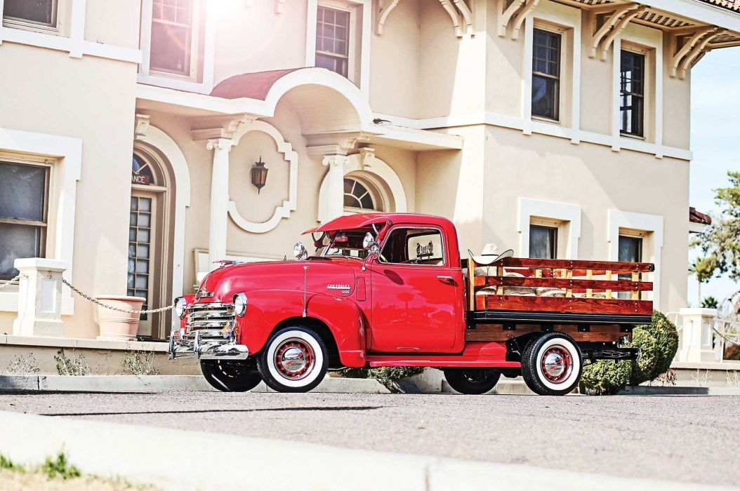 1949 CHEVY 3100 STAKE BED custom pickup tuning hot rods rod gangsta lowrider truck wallpaper