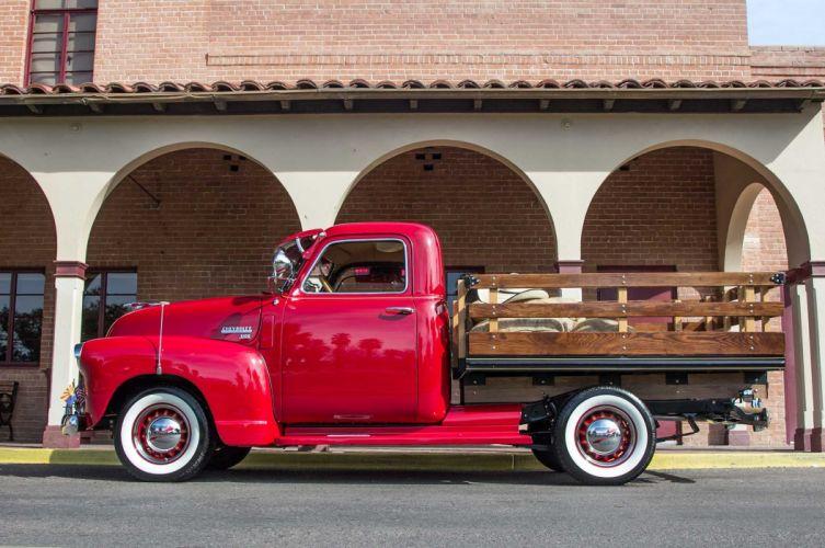 1949 CHEVY 3100 STAKE BED custom pickup tuning hot rods rod gangsta lowrider truck wallpaper